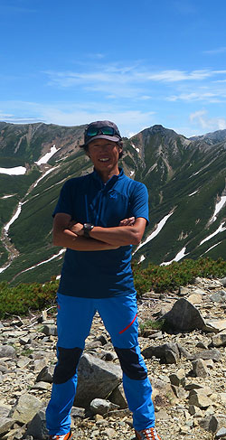山岳ガイド 森正紀