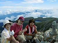 登山ツアー(白馬岳)