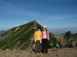 あぎ登山ツアー(唐松岳)