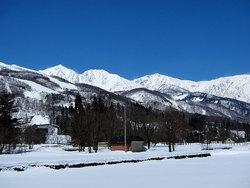春スキー日和