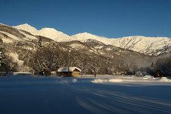 最高のスキー日和♪