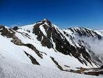 残雪の白馬岳