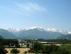 大町からの風景