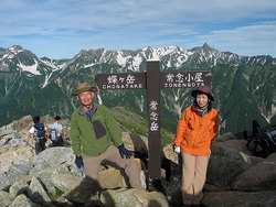 あぎ登山ツアー(燕岳・常念岳)