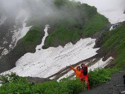 あぎ登山ツアー(鑓温泉)