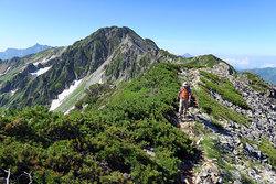 あぎ登山ツアー(笠ヶ岳・水晶岳)